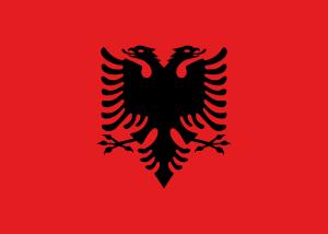 Landskod Albanien