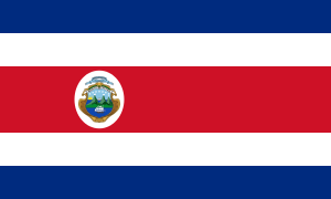 Landskod Costa Rica