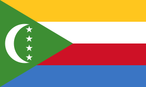 Landskod Komorerna