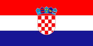 Landskod Kroatien