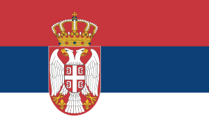 Landskod Serbien
