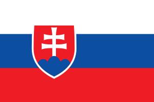 Landskod Slovakien
