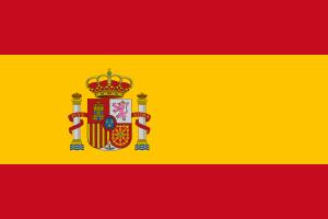 Landskod Spanien