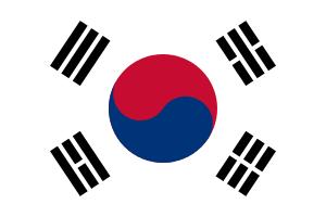 Landskod Sydkorea