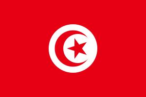 Landskod Tunisien