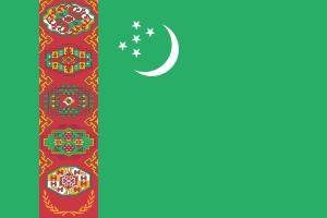 Landskod Turkmenistan